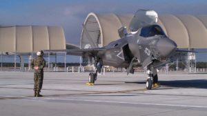 Un Lockheed Martin F-35B de la base aérea de Yuma como el accidentado.q