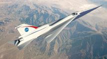 Aspecto que tendrá el X-58, un avión monoplaza cuyo diseño evolucionará hacia el de un avión de pasajeros.