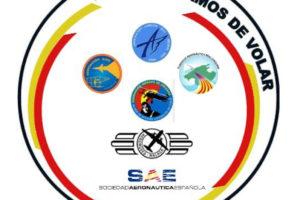 El logo de la nueva alianza de asociaciones aeronáuticas españolas incluye los de estas.