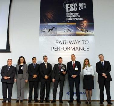 Es la cuarta vez que Aernnova es reconocida por Embraer como uno de sus mejores suministradores