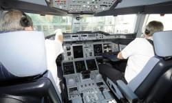 Esperando autorización para partir de Barcelona con destino a Palma de Malorca