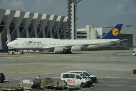 Lufthansa  tendrá sus Boeing 747-8 en servicio menos de 15 años.