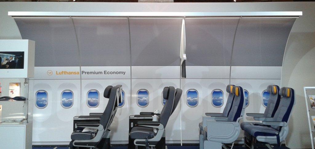 Los nuevos asientos de Premum Economy de Ly