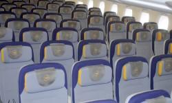La cubierta inferior del A380 de Lufthansa cuenta con 420 asientos en clase turista