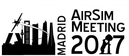 Logotipo del Madrid Airsim Meeting 2017