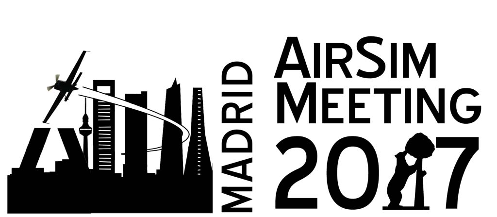 Logotipo del Madrid Airsim Meeting 2017