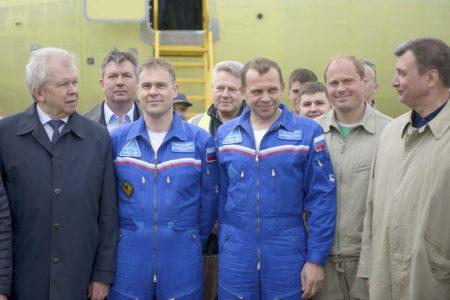 Vasily Sevastyanov y Andrey Voropayev fueron los encargados de tripular el primer vuelo del segundo MC-21.