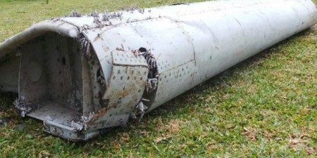 Pieza de unos 2 metros de largo encontrada en la isla de Reunión.
