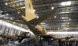 Airbus Military A330 en la cadena de transformación a MRTT en Getafe