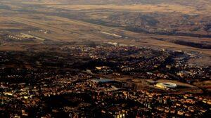 Madrid Barajas visto desde el suroeste.