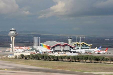 El aeropuerto de Madrid Barajas creció un 9,5 por ciento en noviembre.