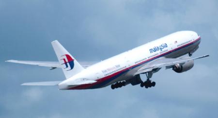 Accidente de un B-777-200ER de Malaysia Airlines