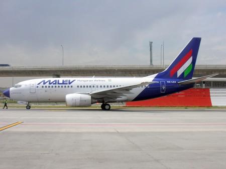 Boeing 737 de Malev