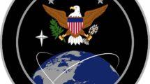 Emblema del nuevo Mando Espacial de Estados Unidos.