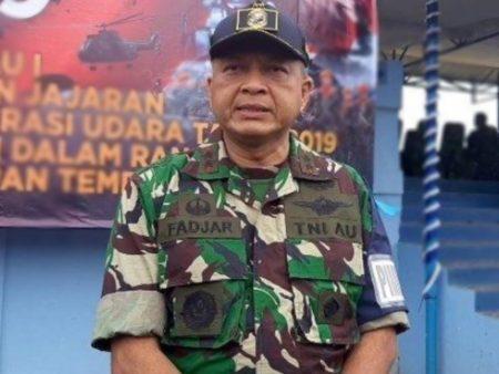 Mariscal Fadjar Prasetyo, jefe de la Fuerza Aérea de Indonesia.