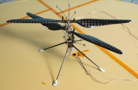 La primera aeronave que volará en Marte será este helicóptero.