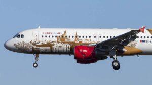 Entre los pedidos de Airbus en agosto, el primero de Medair de un A320 de fábrica.