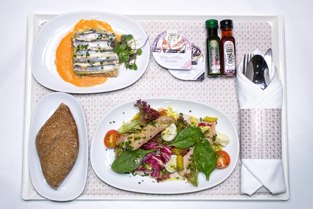 Martin Berasategui diseña los nuevos menús de la clase business de largo radio de Air Europa