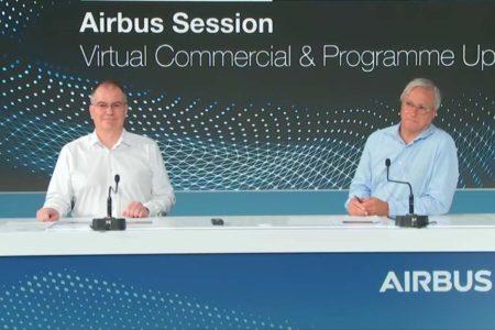 Christian Scherer (derecha) y Philippe Mhun (izquierda), durante su reunión con los medios especializados.