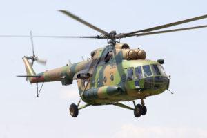 Mil Mi-8 de la Fuerza Aérea de Macedonia del Norte.