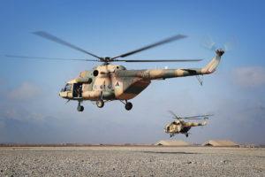 Mi-17 de la Fuerza Aérea de Afganistán.