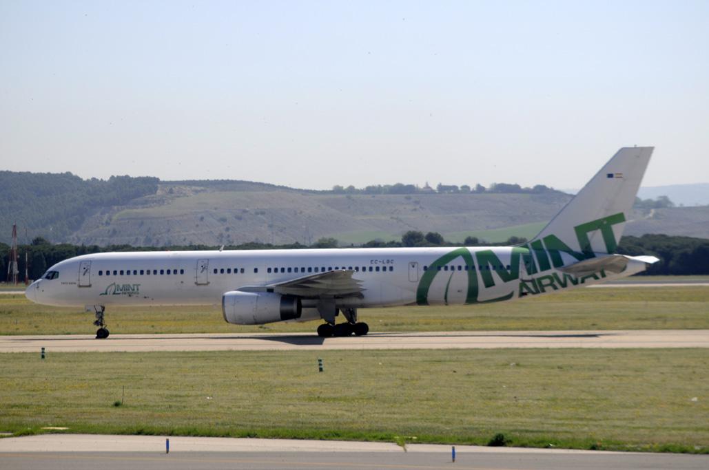 Boeing 757 de Mint