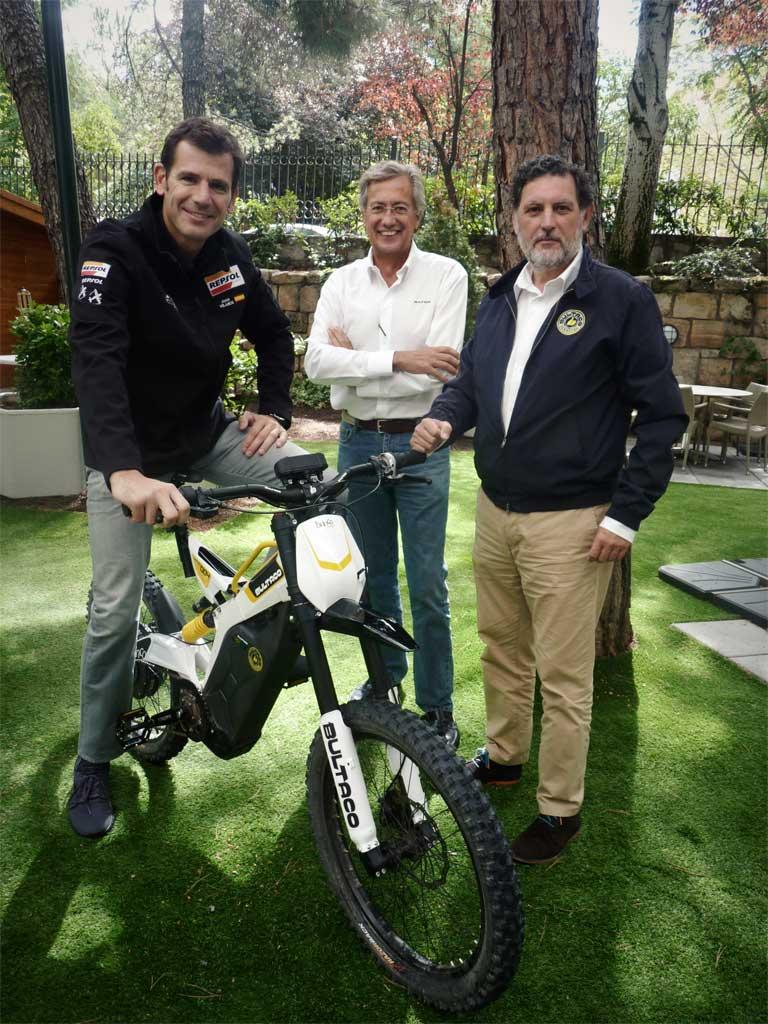 Velarde y responsables de Bultaco presentan el Primer Festival Bultaco de Marugán