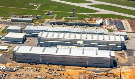 Airbus inauguró en el primer semestre de 2020 la nueva planta de montaje del A220 en Mobile (EE.UU.).