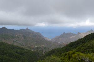 Las montañas de Anaga en Tenerife.
