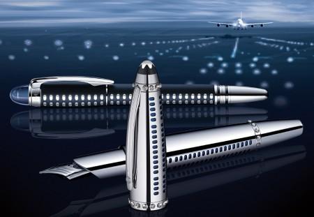 Pluma Montblanc Skeleton A380