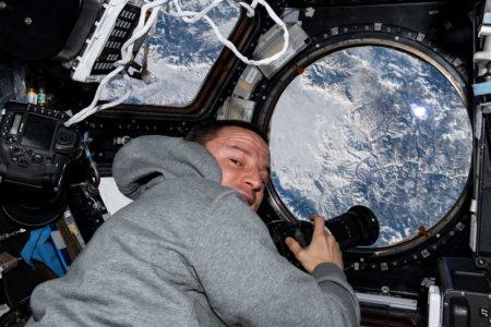 El astronauta Andrew Morgan.