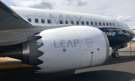 Carenado del motordel Boeing 737 MAX producido por Airbus en España.