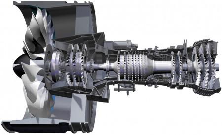 Motor Pratt & Whitney Geared Turbofan