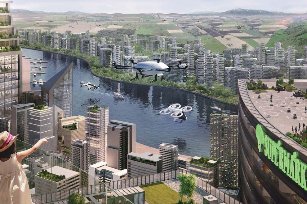 En pocos años los cielos de las ciudades podrían estar cubiertos por numerosos tipos de drones.