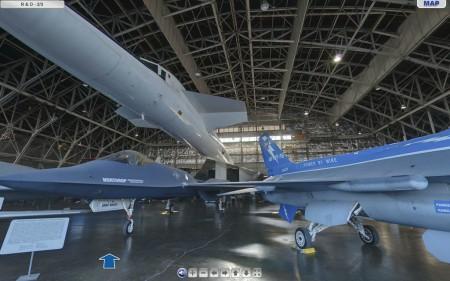 Visita virtual al museo de la USAF