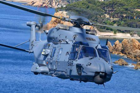 Los NH90 del Ejército del Aire son montados en Francia y equipados en España antes de su entrega.