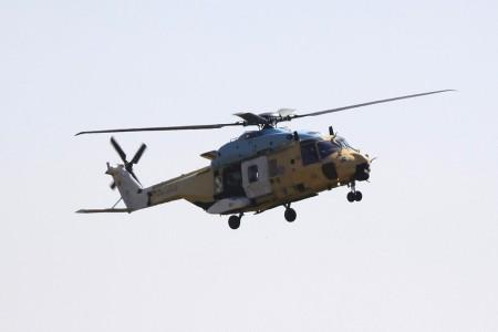 Llegada a Albacete del primer NH90 para FAMET
