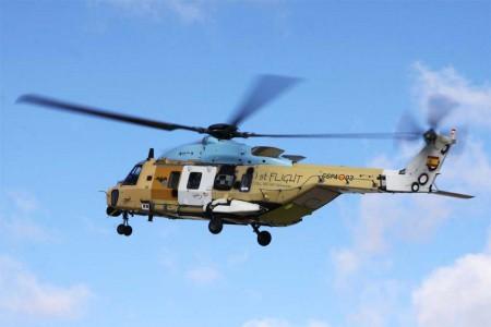 Vuela el primer NH90 ensamblado en España