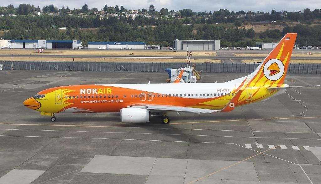 Nok Air comenzó operando con Boeing 737-400 antes de modernizarse al -800.