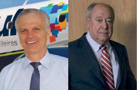 David Neeleman (izquierda) y Humberto Pedrosa (derecha), socios en la oferta de compra de TAP Air Portugal.
