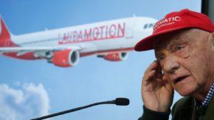 Niki Lauda hace unos días en Viena durante la presentación de LaudaMotion.