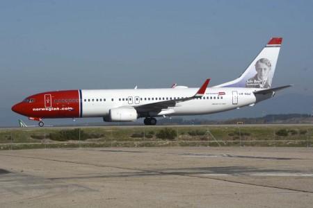 Norwegian opera más de 90 Boeing 737-800.