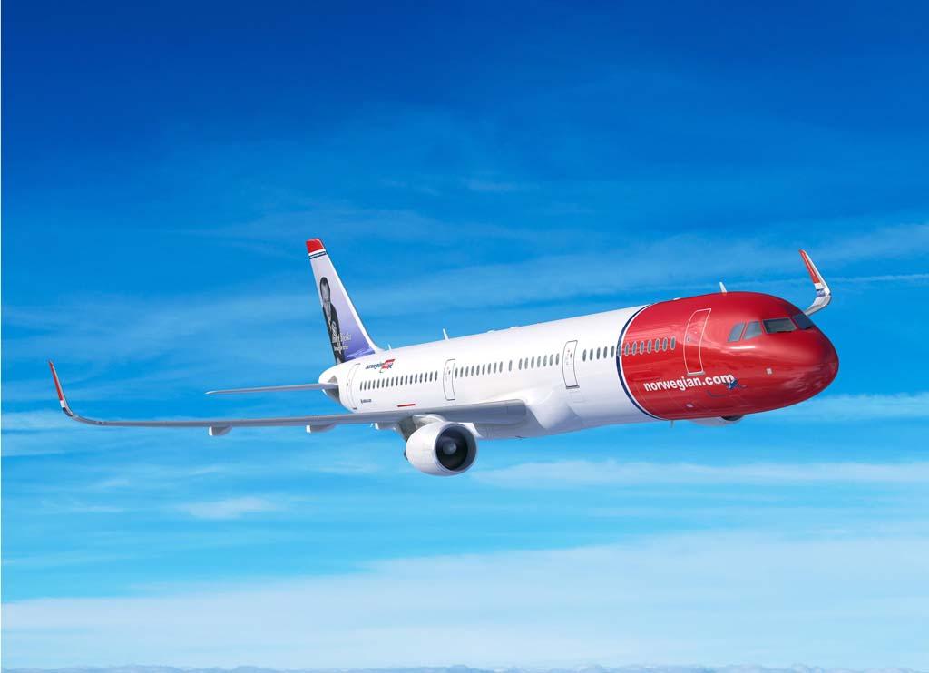 Norwegian llegó a anunciar vuelos de largo radio con sus Airbus A321LR.