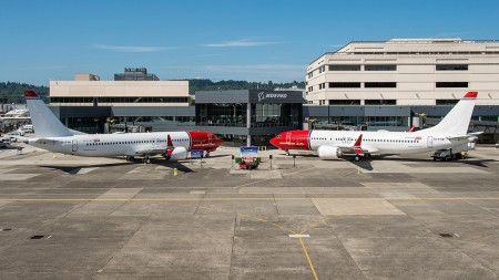 Norwegian recibió dos Boeing 737 MAX justo antes del final del segundo trimestre del año.