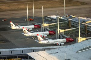 Aviones Boeing 737 -800 de Norwegian.