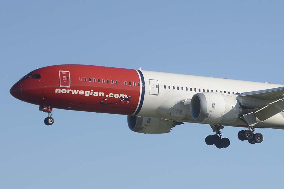 Norwegian dejará de operar el Boeing 787 y se centrará en vuelos en Europa.