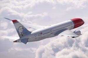 Miró es el el octavo español (incluyendo a Colón) que decora la cola de los aviones de Norwegian.