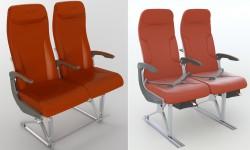 Los nuevos asientos para los ATR 42-600 y ATR 72-600: Neo Prestige (izquierda) y Neo Classic (derecha).