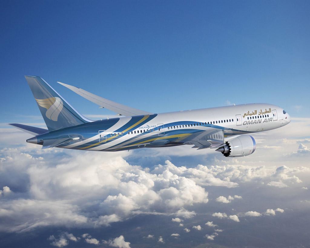 Boeing 787 Dreamliner de Oman Air