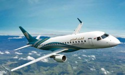 Embraer E175 de Oman Air.